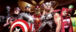 Assemble by Marvel - Limited Edition on Paper sized 42x18 inches. Available from Whitewall Galleries